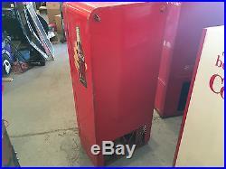Vintage 1950's Cavalier 72 Coca Cola Vending Machine Coke Cooler restoration