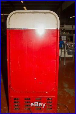 Vintage 1950's era Vendo Coca-Cola Coke Glass Bottle Vending Machine