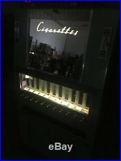 Vintage 1950s 11 Column National Vendors Cigarette Vending Machine