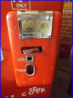 Vintage 1950s Cavalier CM-51A Coca Cola Coke Coin Vending Machine Runs Well