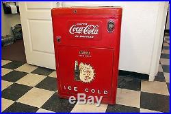 Vintage 1951 Coke machine