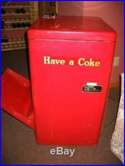 Vintage 1954 Coke Vendo model A23E (KC) Coca Cola Spin-top Vending Soda Machine
