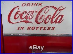 Vintage 1957 1958 Vendo H81D Coke Machine WORKS