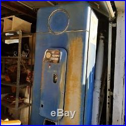 Vintage 1958 Pepsi Machine 5 Cent Coin Operated Runs & Cools