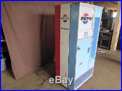 Vintage 1960-1970 Pepsi Bottle Dispensing Machine #S141