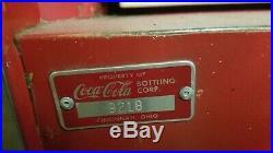 Vintage 1960 Cavalier Coca Cola Coke Soda Bottle Vending Machine 10 Cents Works