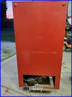 Vintage 1960's Cavalier Coca Cola Coke Vending Machine Model #CS-142E Works
