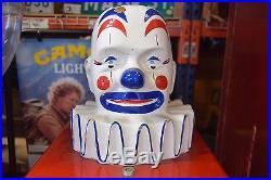 Vintage 1960's King Koin Clown Toy Prize Vending Machine