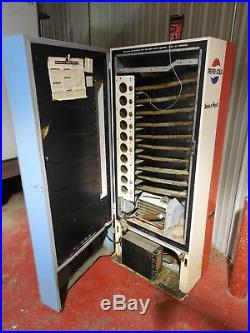 Vintage 1960's Vendorlator VF-90 Pepsi Machine, Cools Great, Free Vend