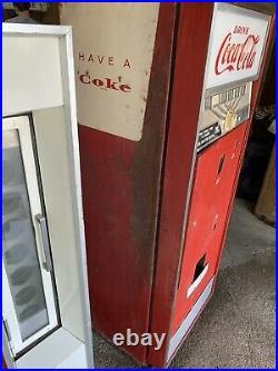 Vintage 1960s 1970s Coke Vending Machine Coca-Cola Soda Advertising