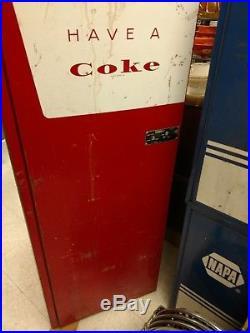 Vintage 1960s Coca-Cola Soda Machine Soda Pop Coca Cola Pepsi