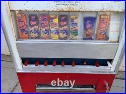 Vintage 1960s LANCE Snack Vending Machine Works