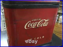 Vintage 1961 Multiplex 44 Vending Coca Cola Coke Dispenser on Table. Rp