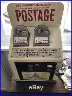 Vintage 1970s Postage Stamp Machine