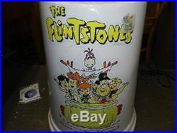 Vintage 1994 The Flintstones Fred Giant Gumball Vending Machine Victor 77 RARE