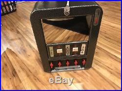 Vintage 1 Cent Gum Machine Vending Display Candy Wrigley's Rowe Stoner Penny