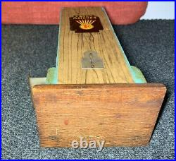 Vintage 1 Cent MATCHBOOK VENDING MACHINE 14 Inches Tall CHICAGO MATCH CO