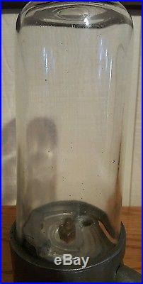 Vintage 1 Cent Penny King Gumball Vending Machine, Gum Dispenser
