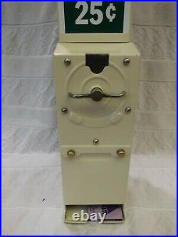 Vintage 25 Cent Coin Op Advance Harmon Condom Vending Machine Dixie Deluxe