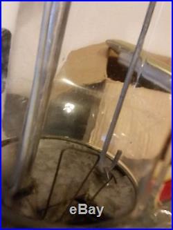 Vintage 40s ASCO Get Em Hot Peanut 5 Cent Vending Machine W Vortez Cups Disp