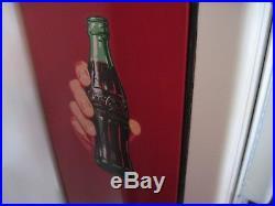 Vintage 50s Cavalier Cs-96 Coca Cola Vending Machine Coke Works