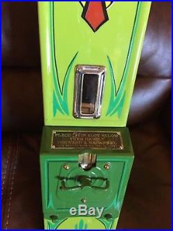 Vintage 5 Cent Hershey's Vending Machine-harmon/amco/mancave/gameroom/hotrod