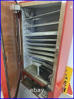 Vintage 5c Coke Machine Westinghouse DU144 Coca Cola Retail Store Bottle Vending