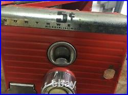 Vintage 5cent Northwestern Gumball Machine