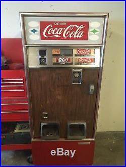 Vintage 60's Coca Cola vending machine cavalier coke classic