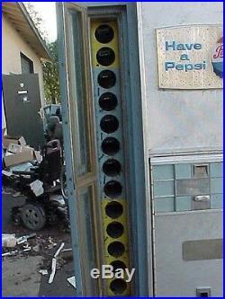 Vintage 60's Vendorlator Vf117a-smp Pepsi Vending Machine 78 Tall, Gets Cold