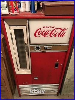 Vintage 60s Coca Cola Vending Machine Coke Red Not Working Easy Fix