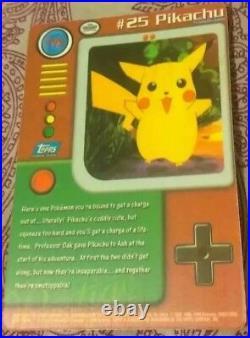 Vintage 90s Vending Machine Giant Pikachu Sticker Retro Rare Holo Pokemon Card
