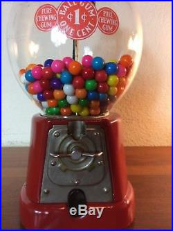 Vintage Advance One Cent Gumball Machine