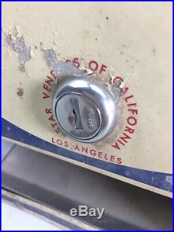 Vintage American vending machine candy americana import star los angeles rare