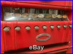 Vintage Antique Coin Operated Cigarette Machine