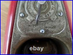 Vintage Antique Gumball Advance Machine Company Chicago For Parts