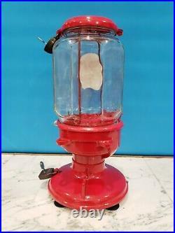Vintage Antique Model A Columbus 1910 Peanut Gumball Machine