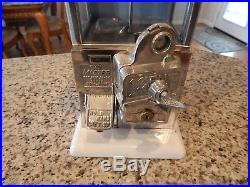 Vintage/Antique Norris Master Peanut/Gumball Machine! Cent Coin Op
