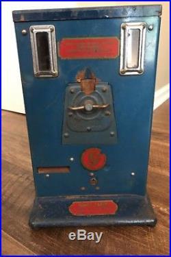 Vintage Antique Pencil Vending Machine 5 Cent Harmon Machine Co. Inc Rare
