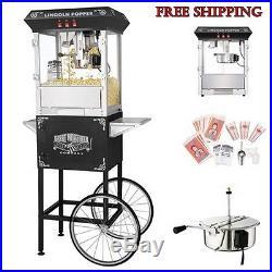 Vintage Antique Retro Style Commercial Popcorn Popper Maker Machine Bar Movie
