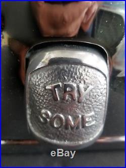 Vintage Antique Silver King Hot Nut Peanut Gumball Machine
