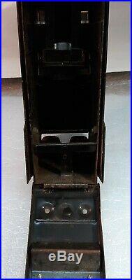Vintage Antique condom machine, Harmon Amco. 25 coin operated vending machine