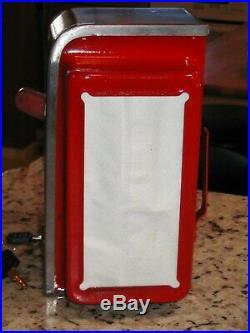 Vintage Ask Swami Napkin Holder Fortune Dispenser Trade Stimulator