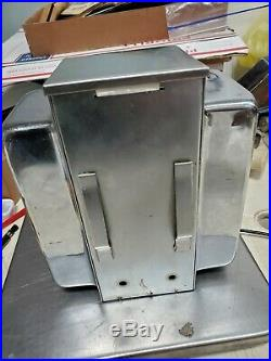 Vintage Ask Swami Napkin Holder Fortune Dispenser Trade Stimulator Machine