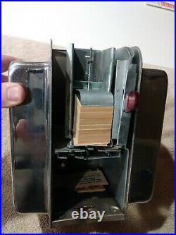 Vintage Ask Swami Napkin Holder Fortune Dispenser Trade Stimulator With Key