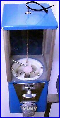 Vintage Astro Candy, Gumball Vending Machines On Stand