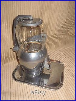 Vintage Atlas Bantam 5 Cent Candy Peanut Gumball Vending Machine