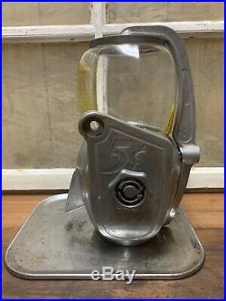 Vintage Atlas Bantam Mighty Midget 5 Cent Peanut Vending Machine With Lock & Key