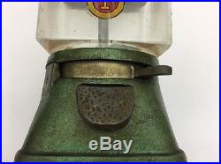 Vintage Bloyd Lucky Boy Gumball Vending Machine Peanuts Candy Globe