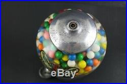 Vintage Blue Bird Table Top Gumball Candy Machine Circa 1920 231